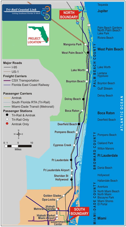 sfecc study - south florida east coast corridor (sfecc) study